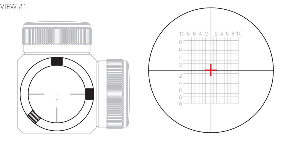Riflescope erector tube centre alignment