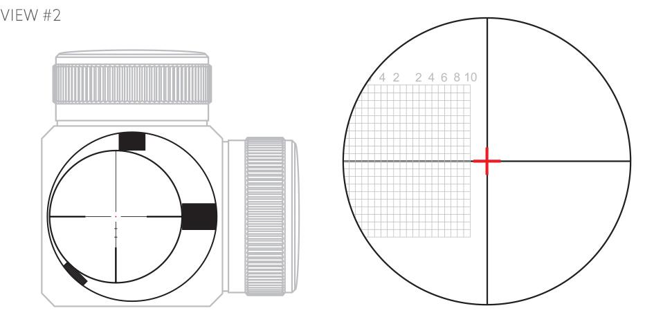 Riflescope erector tube left alignment