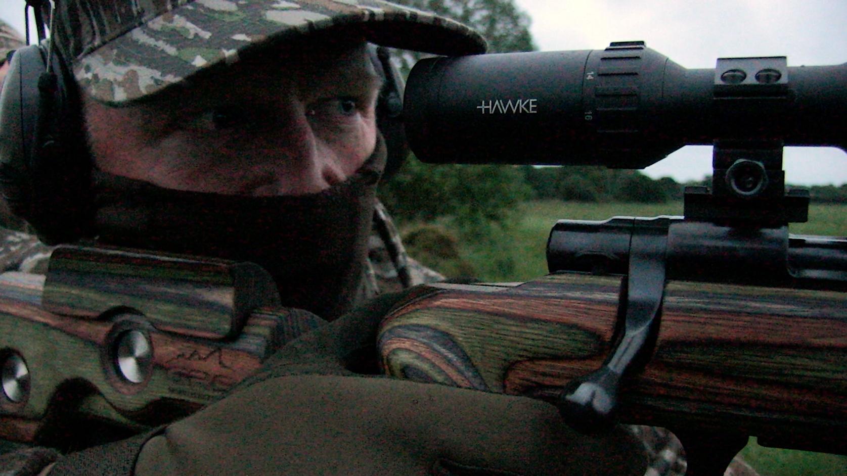 hunting Oxfordshire roebuck
