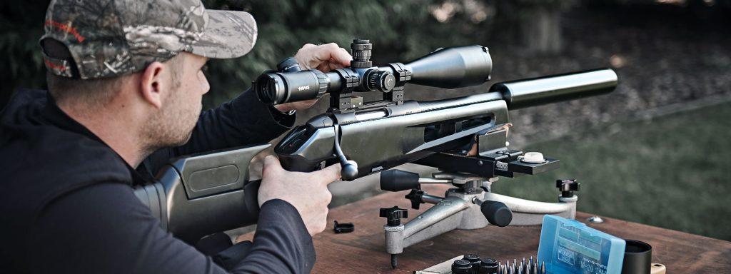 Zero a riflescope