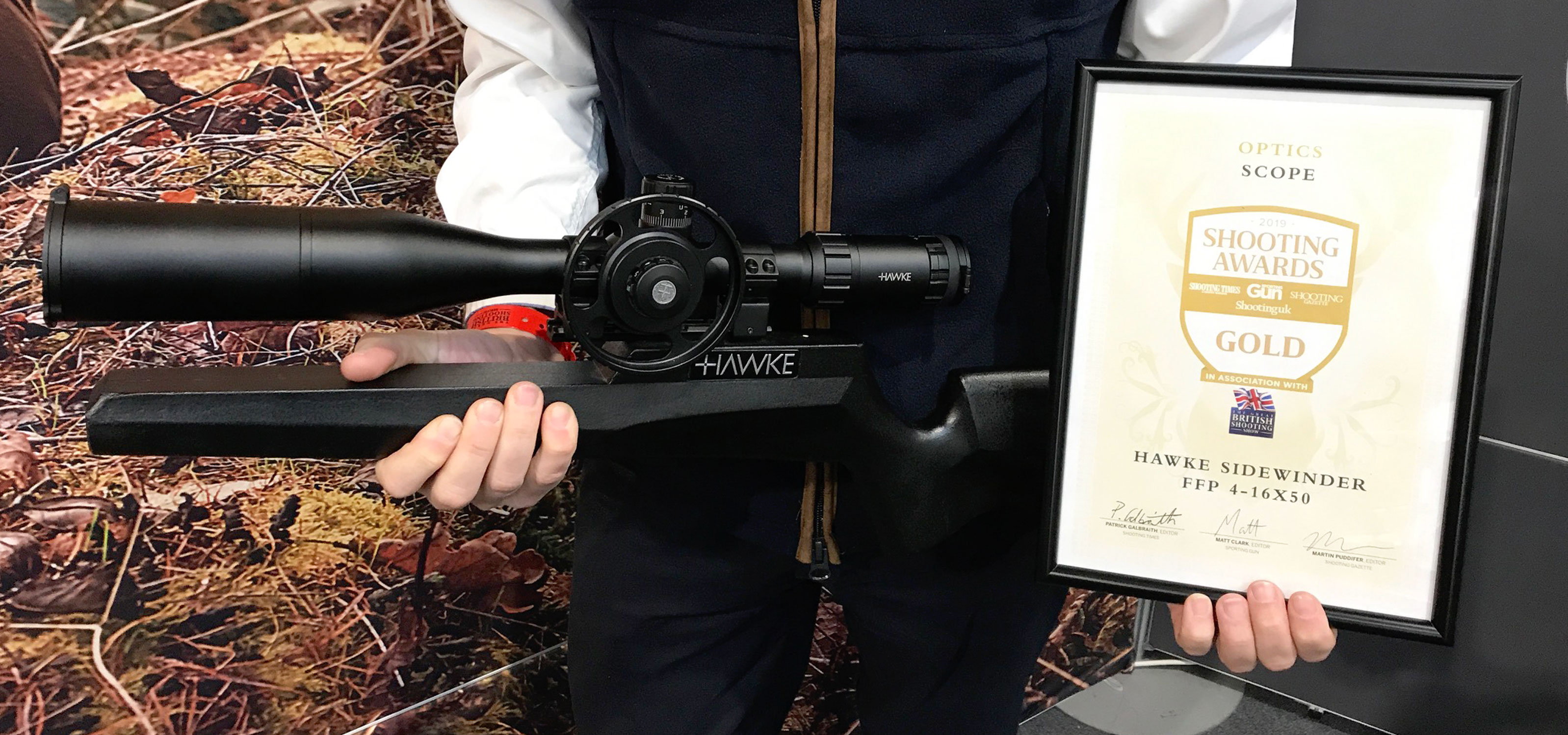 2019 Shooting Awards Hawke Sidewinder FFP