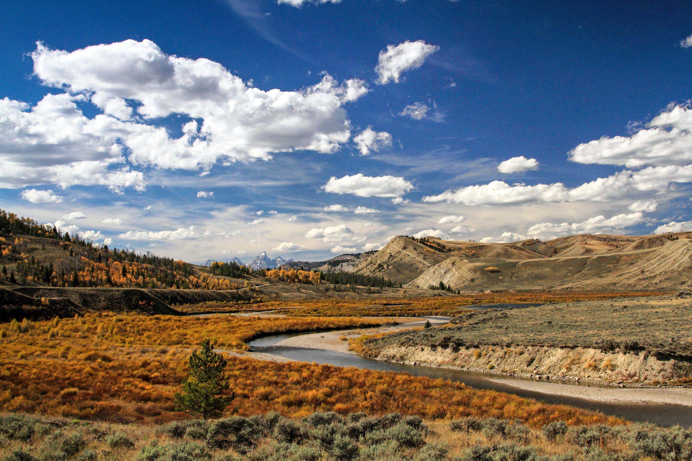 Keith Crowley, Teton landscape