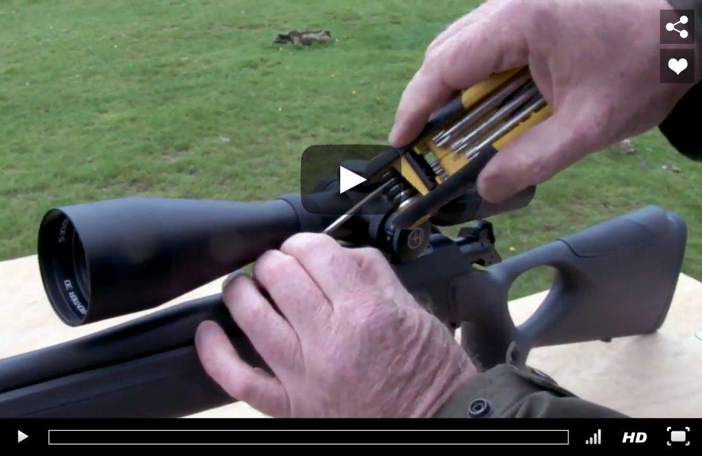 Firearms Training Setup