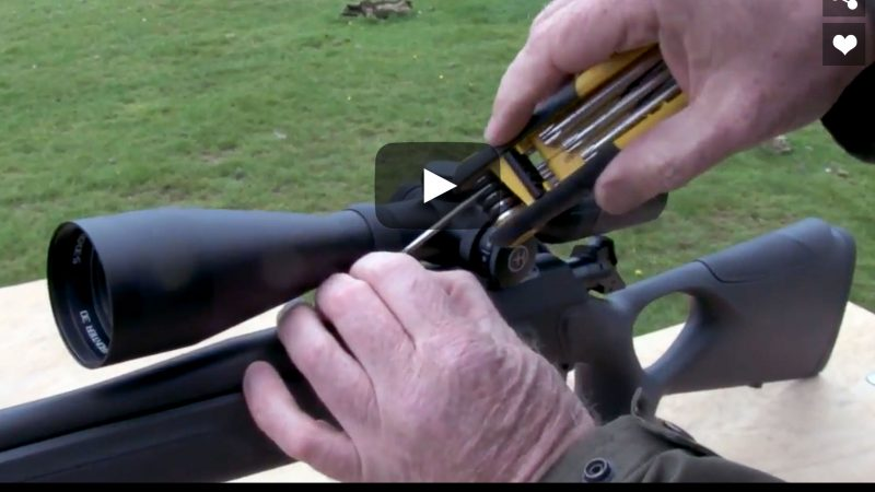 Firearms Training – Mounting your scope