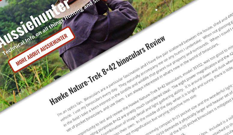 Review: Aussiehunter.org | Hawke Nature-Trek Binocular