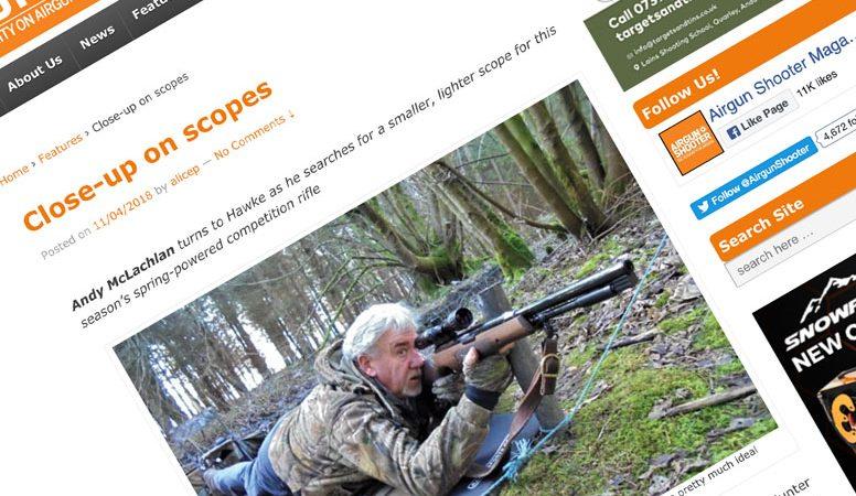 Review: Airgun Shooter | Hawke Vantage 2-7×32 Riflescope