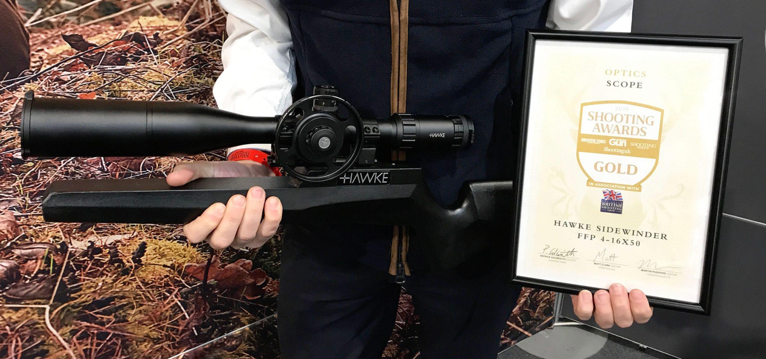 Shooting Award Winner – Gold