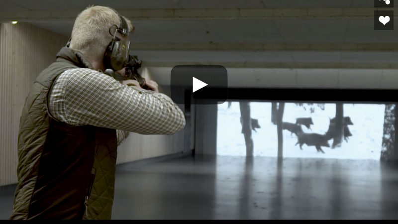 Shooting Cinema – Rifle Shooting Practise