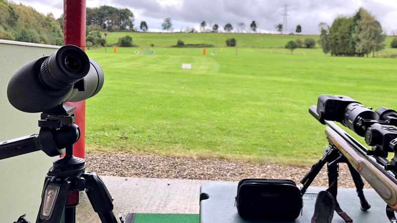 Using a Spotting Scope for Long Range Shooting