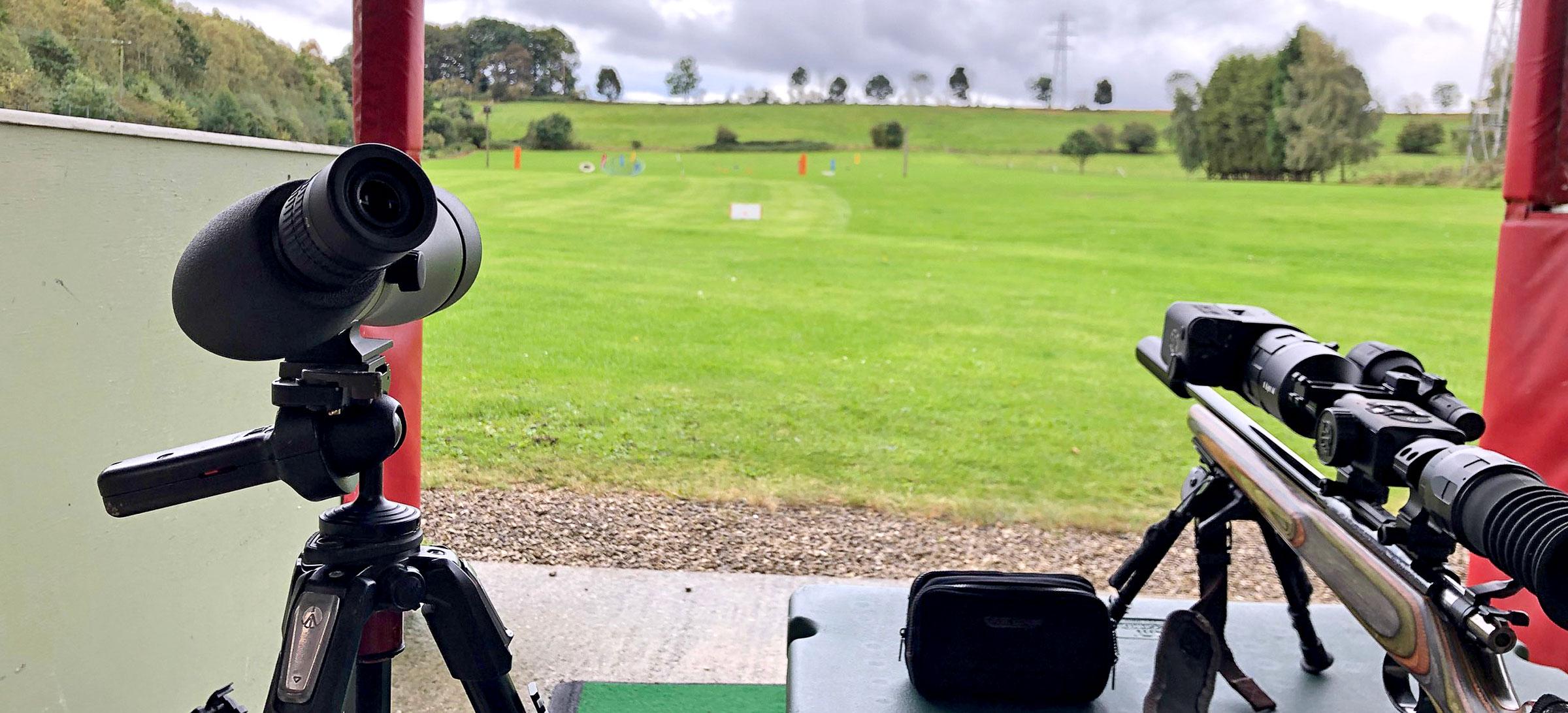 Using a Spotting Scope for Long Range Shooting