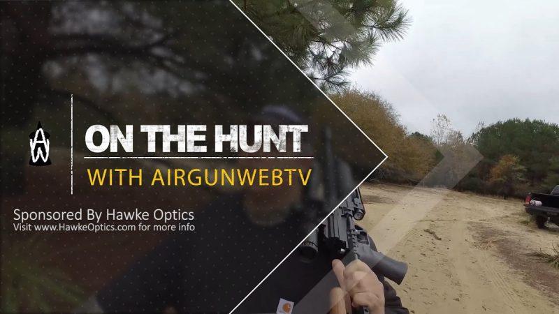 Rick Eutsler .45 caliber Airgun Texas Hog Hunt