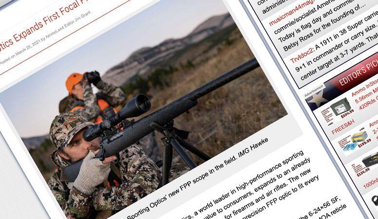 Review: AmmoLand.com | Hawke FFP Riflescopes