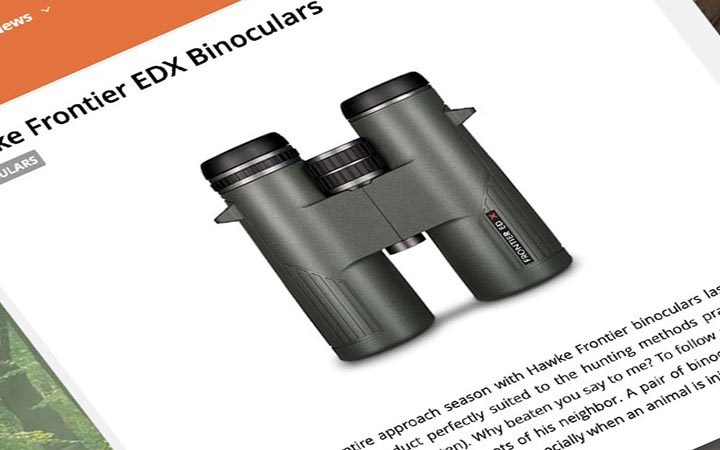 Review: Chassons | Hawke Frontier ED X Binoculars