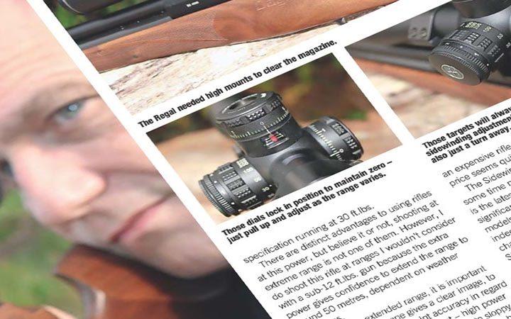 Review: Airgun World   Hawke Sidewinder 30 SF 4-14×44 Riflescopes