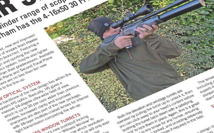 Review: Airgun World   Hawke Sidewinder FFP 4-16 x 50 Riflescope