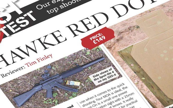Review: Gun Mart | Hawke Red Dot Vantage