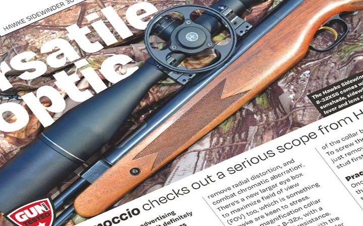 Review: Gun Mart   Hawke Sidewinder FFP 8-32×56 Riflescope