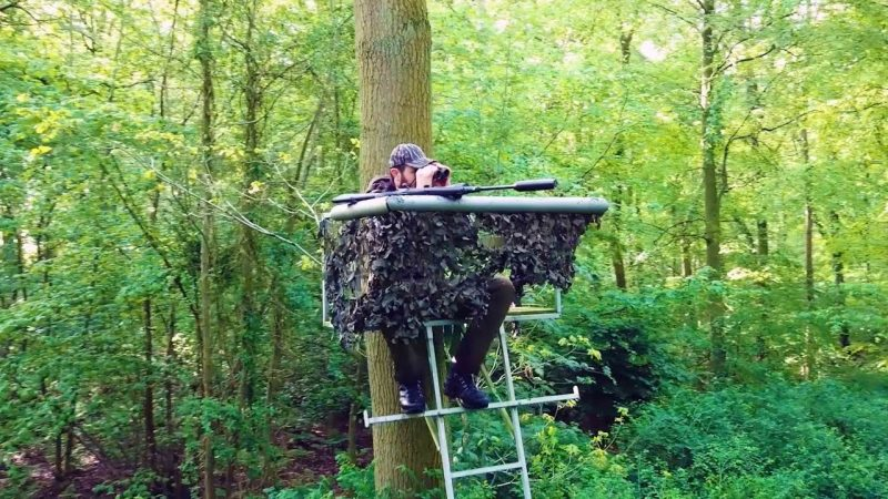 Planning Hunting High-Seats for Deer Control