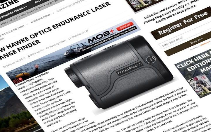 Review: Odu Magazine | Hawke Endurance LRF 700