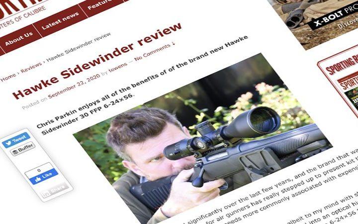 Review: Sporting Rifle   Hawke Sidewinder FFP 6-24×56 Riflescope