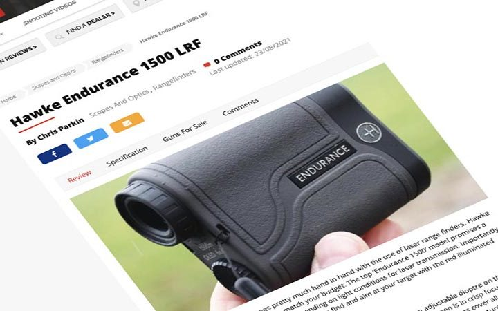 Review: Gun Mart | Hawke Endurance 1500 LRF
