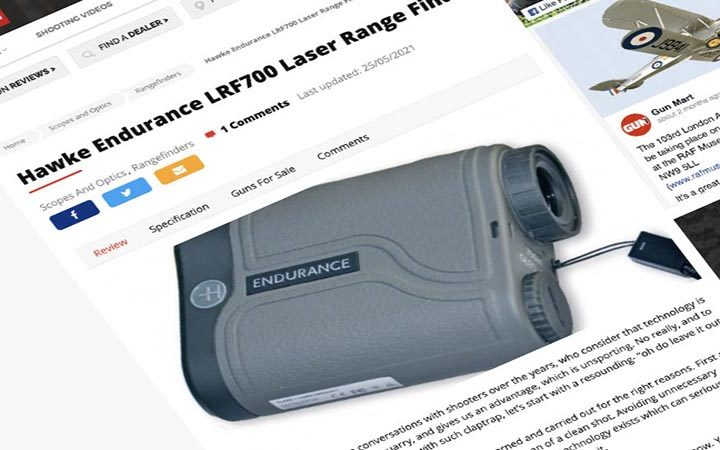 Review: Gun Mart | Hawke Endurance 700 LRF