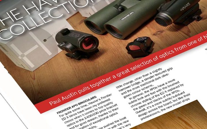 Review: Rifle Shooter Magazine | Hawke Red Dot and Reflex Sights
